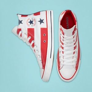 NEW Converse Chuck Taylor American Flag Shoes